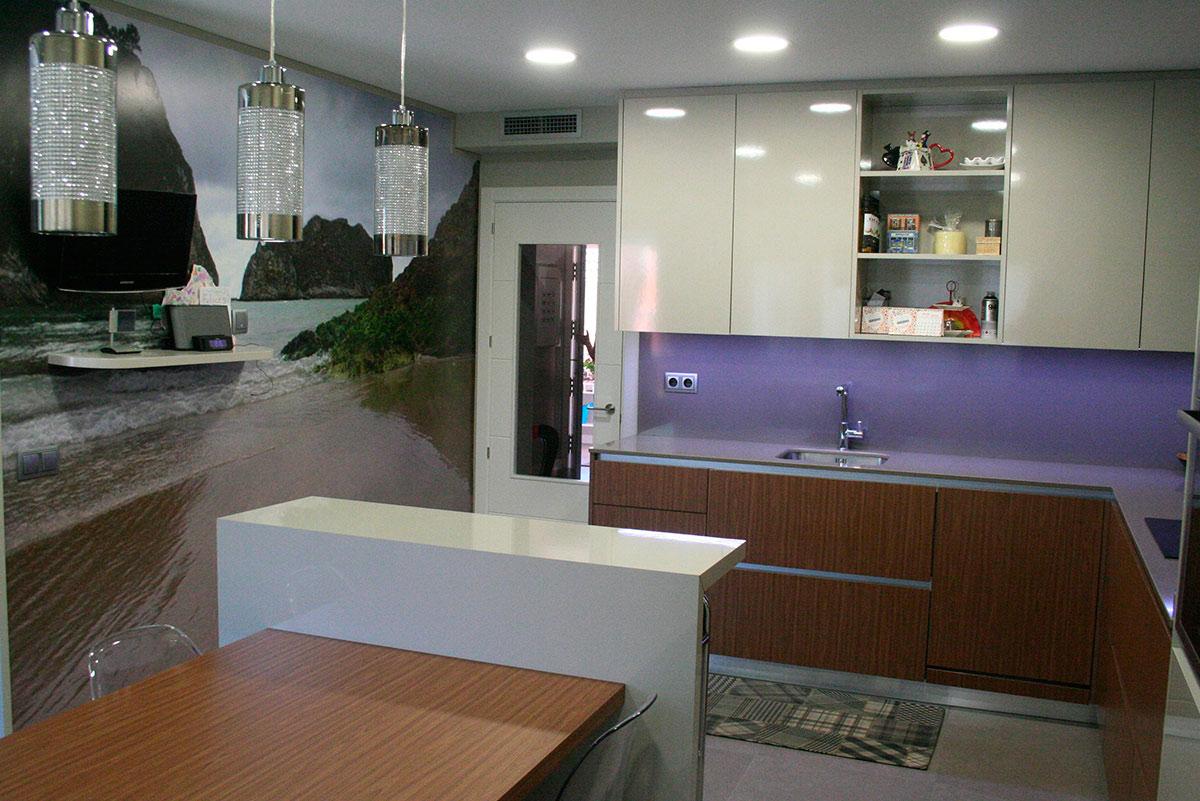 Mentha cocinas muebles a medida proyecto getafe mentha for Cocinas muebles a medida