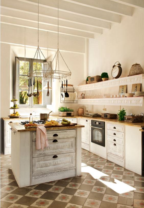 Como decorar una cocina rustica consejos para una cocina - Como decorar una cocina rustica ...