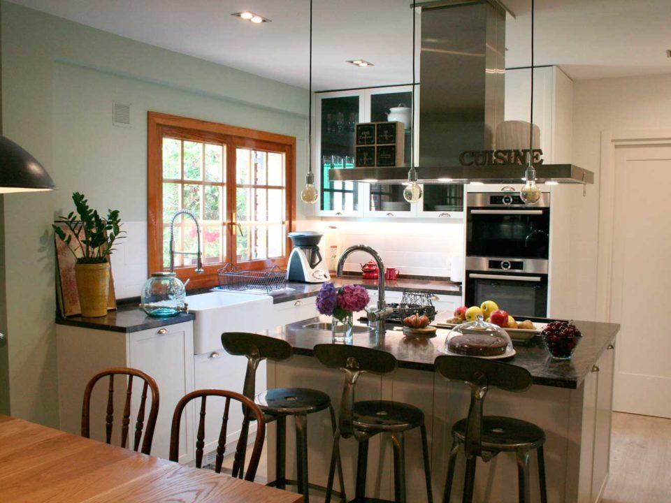 proyecto de cocina para vivienda unifamiliar