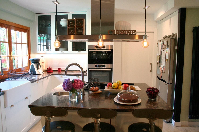 proyecto cocina vivienda unifamiliar